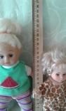 Три симпатичные малышки 20 см., фото №7