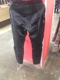 Кожаные байкирские штаны размер 36 photo 3