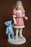 Royal Copenhagen Девочка с игрушкой Goldilocks 2004 photo 1