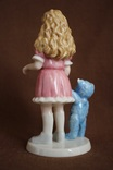Royal Copenhagen Девочка с игрушкой Goldilocks 2004 photo 3