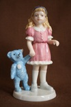 Royal Copenhagen Девочка с игрушкой Goldilocks 2004 photo 6