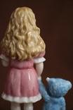 Royal Copenhagen Девочка с игрушкой Goldilocks 2004 photo 9