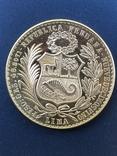 100 Солей 1963г Перу photo 2