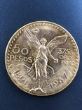 50 песо 1947 г Мексика photo 1