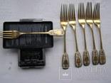 Набор столовых приборов на 6 персон Л.А.Завьялов 1888 г.(повторно в связи с невыкупом) photo 5