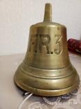Старинный корабельный колокол корабельная рында F.R.3