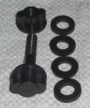 Болт для М.Д. 8мм. + 4 Уплотнительные резинки  1