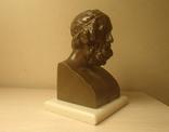 Гомер бронза 19 век Франция photo 3