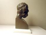 Гомер бронза 19 век Франция photo 4