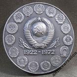 225 50 лет СССР, серебро, эмаль, ЛМД photo 5