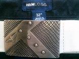 H&M L.O.G.G. фирменные походные штаны с ремнем