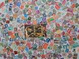 Лот иностранных марок 400 шт.+ 1 блок искусство. photo 2