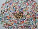 Лот иностранных марок 400 шт.+ 1 блок искусство. photo 1