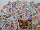 Лот иностранных марок 400 шт.+ 1 блок искусство. photo 3