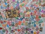 Лот иностранных марок 400 шт.+ 1 блок искусство. photo 4