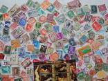 Лот иностранных марок 400 шт.+ 1 блок искусство. photo 6
