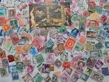 Лот иностранных марок 400 шт.+ 1 блок искусство. photo 7