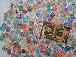Лот иностранных марок 400 шт.+ 1 блок искусство. photo 8