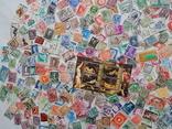 Лот иностранных марок 400 шт.+ 1 блок искусство. photo 10