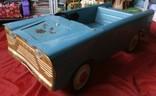 Педальная машина детская автомобиль Нева СССР