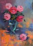 """""""Букет цветов"""" х.м. 50х70 см."""