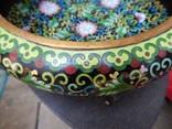 Фруктовница, конфетница и тарелка Клуазоне одним лотом photo 5