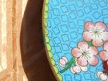 Фруктовница, конфетница и тарелка Клуазоне одним лотом photo 12