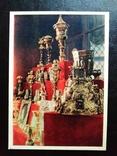"""Открытка """"Серебряные изделия Гамбургской работы"""" (1957), фото №2"""