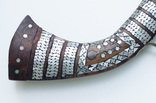 Афганское кремневое ружьё (длина см) с английским замком, богатые инкрустации, 19й век photo 2