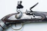 Афганское кремневое ружьё (длина см) с английским замком, богатые инкрустации, 19й век photo 5