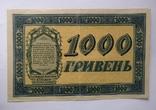 1000 гривень 1918 року УНР photo 2