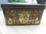 Металлическая коробка с под конфет к 300-летию дома Романовых. 1913 photo 4