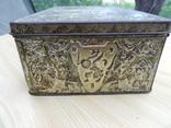 Металлическая коробка с под конфет к 300-летию дома Романовых. 1913 photo 6