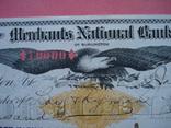 США чек 1900 год на 10 000,00$ Орел большой