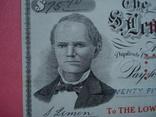 США чек 1915 год на 75,90$ водяные знаки photo 1
