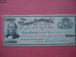 США чек 1915 год на 75,90$ водяные знаки photo 3