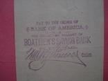 США чек 1888 год на 98,58$ photo 4