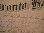 США чек 1888 год на 98,58$ photo 5