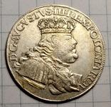 Орт Августа 3 (Толстый) 1754г