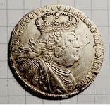 Орт Августа 3 (Толстый) 1755г