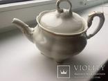 Старовинний великий чайничок позолоченний photo 1