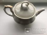 Старовинний великий чайничок позолоченний photo 2