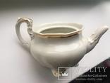 Старовинний великий чайничок позолоченний photo 4