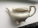 Старовинний великий чайничок позолоченний photo 5