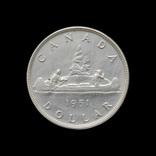 1 Доллар 1951 Георг VI, Канада