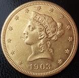 10 долларов 1903 года photo 1