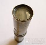 Старинная бронзовая подзорная труба. Длинна - 40,5 см. photo 9
