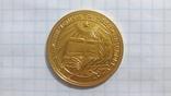 Золотая школьная медаль УССР образца 1954 года photo 2