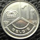 1 франк Бельгія 1990 Belgie, фото №2