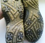 """Ботинки для гольфа """"Ecco"""" Hydromax. Из кожи, 41 размер/ стелька 27 см. photo 9"""